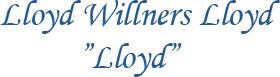 Text Lloyd-Willners Lloyd