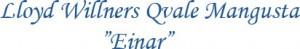 text Lloyd-Willners Qvale Mangusta